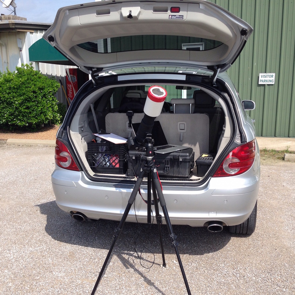 Astrophotography does take some forwarding planning, and a fair amount of gear!