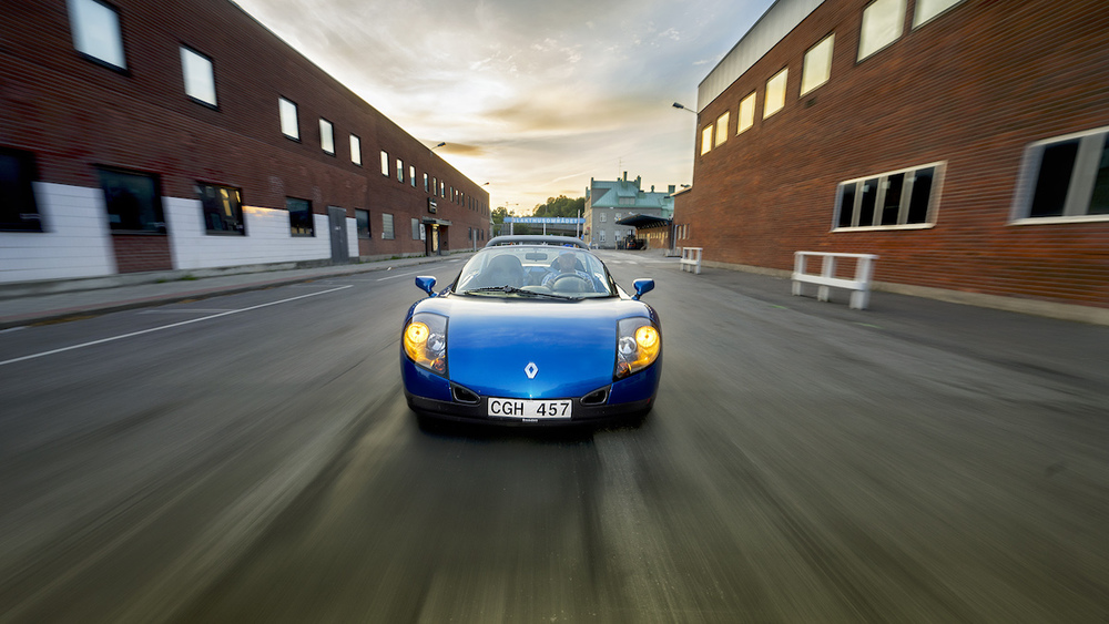 The Renault Spider shot that caught our eye. Shot by Max Gennel using Triggertrap Mobile.
