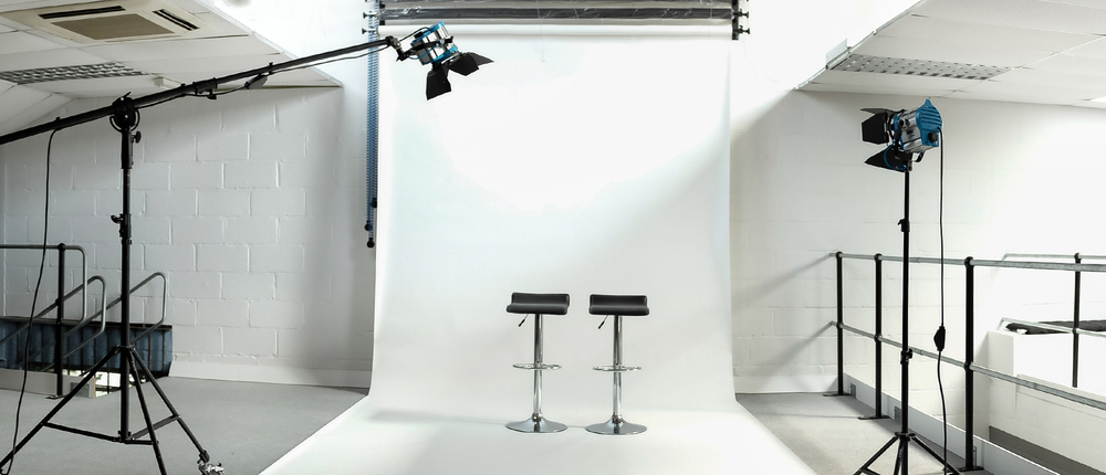 Amersham Studios features a large shooting area, perfect for even the most tricky ideas!