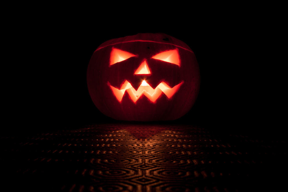 Photograph of a pumpkin using Timed Release mode in Triggertrap Mobile.