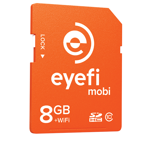 8GB Eyefi Mobile SD card