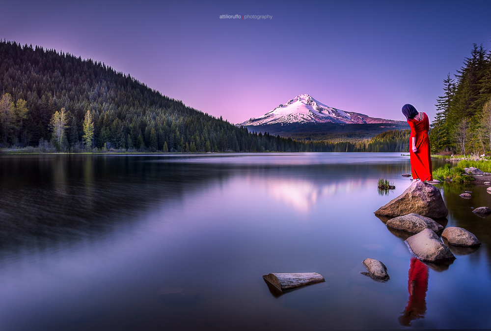 Lady in Red, Trillium Lake IG.jpg