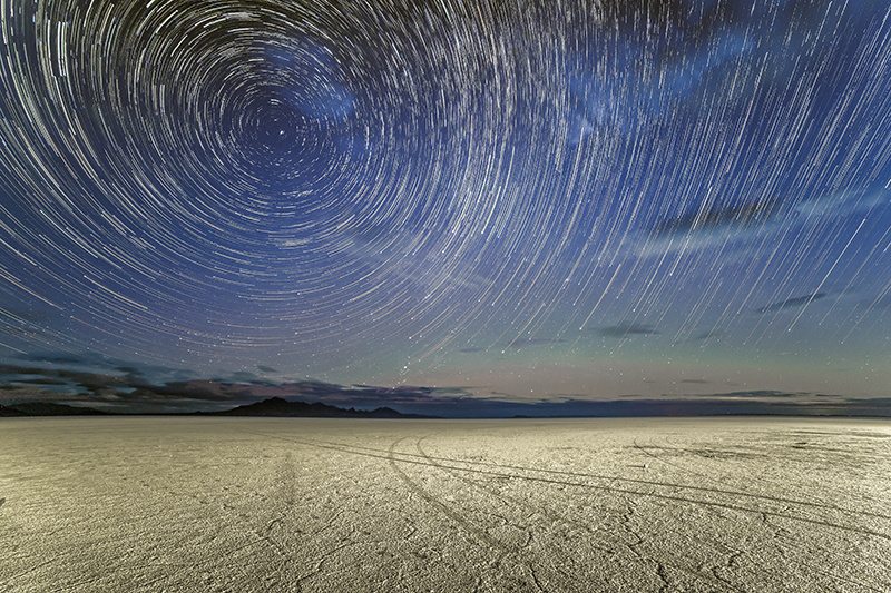 This awesome star trail shot is by Triggertrap user Joseph Gruber