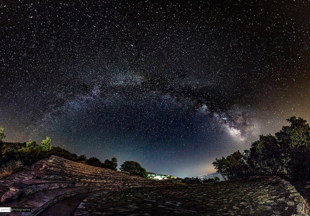 One of the many awesome shots from Panos Photographia's Greek Skies.