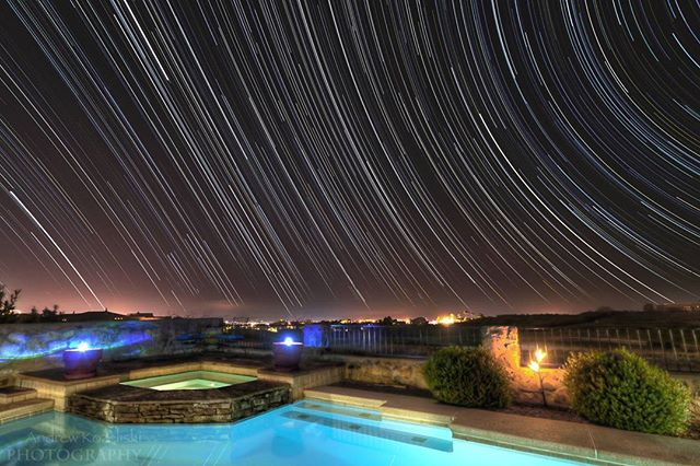Andy Kozeliski (@kozeliski) used a combo of our LE #HDR mode and our #StarTrail mode in order to create this beauty. It was taken in Las Cruces, New Mexico. Lovely. #SonomaRanch #startrail #startrails #astrophotography #cityscape #photooftheday #exposure #capture #moment #photodaily #photogram #landscape #landmark #focus #photog #travel #explore #adventure #art #picoftheday #photography #camera #lens #potd #longexposure #triggertrap