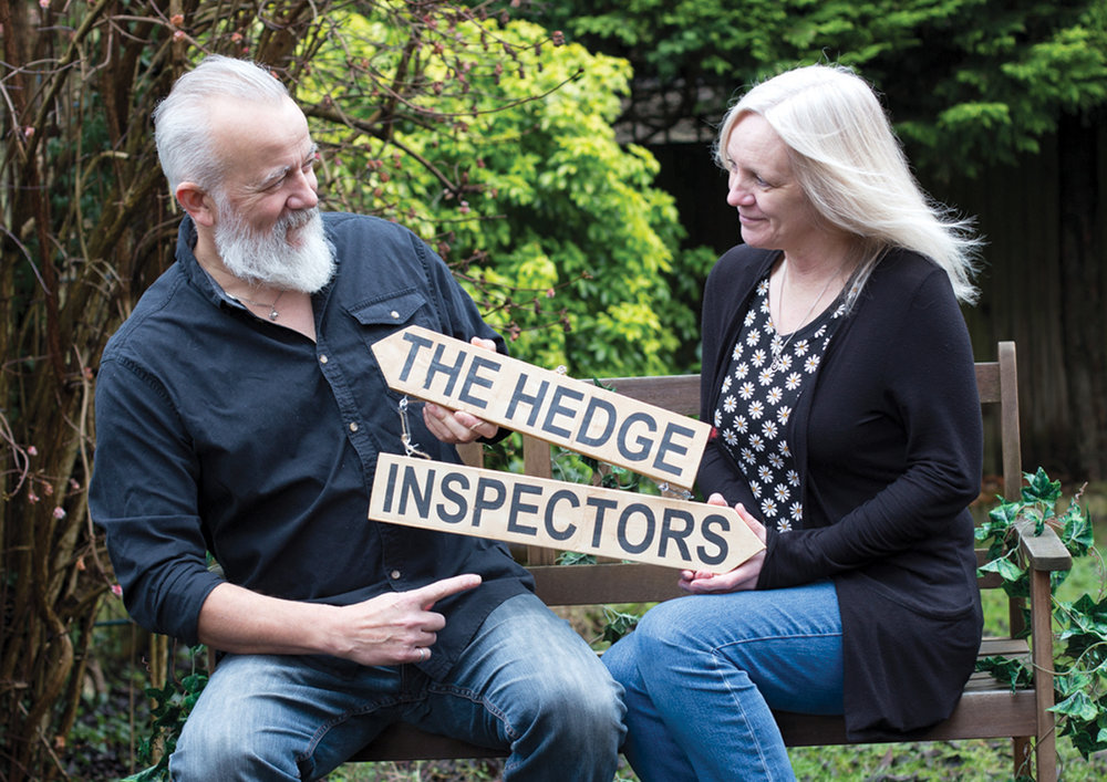 With a range of songs from the hilarious to the deep and touching, the Hedge Inspectors will delight the crowds around the UK's festival circuit this year.