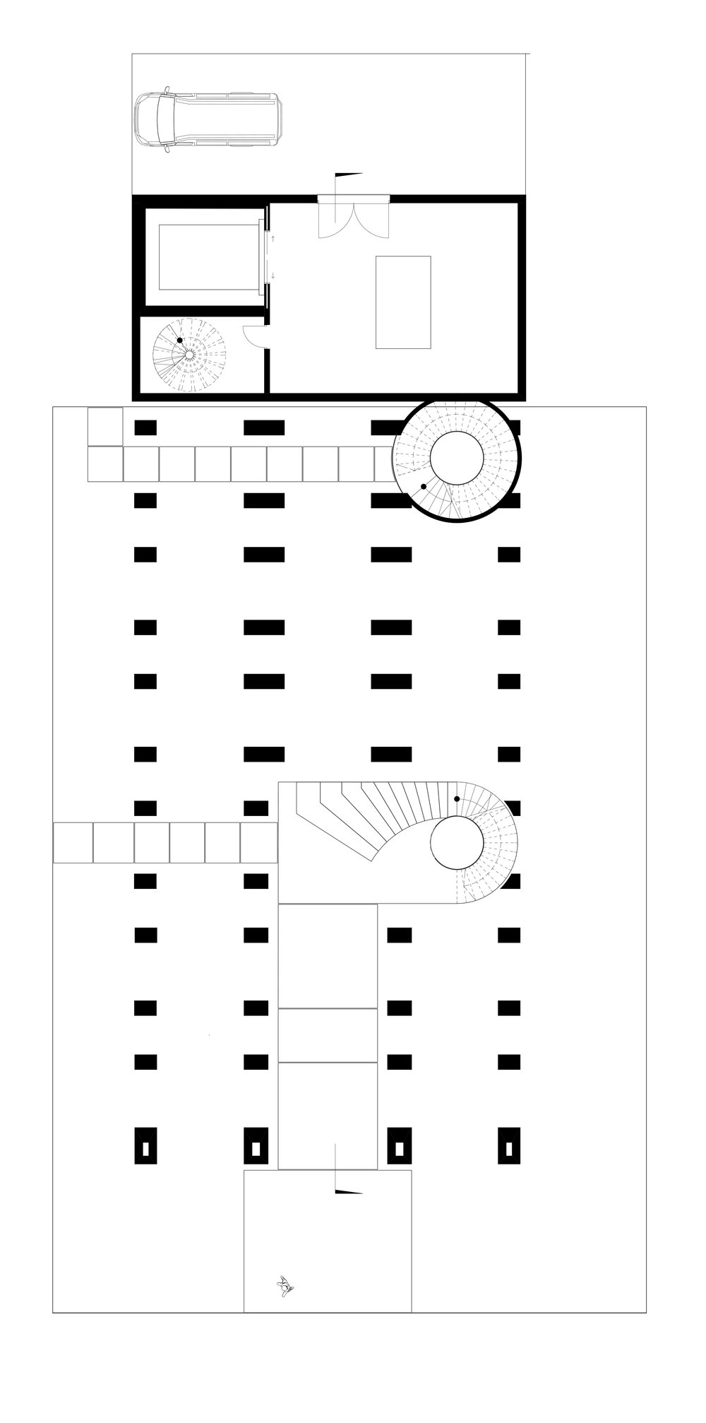 Creamtorium & columbarium  Ground floor plan