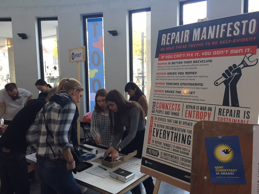 Share & Repair Fest in Ghent