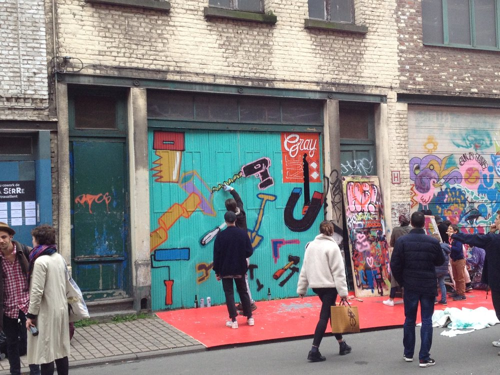 Street Party in Rue Gray, Ixelles - 29/4