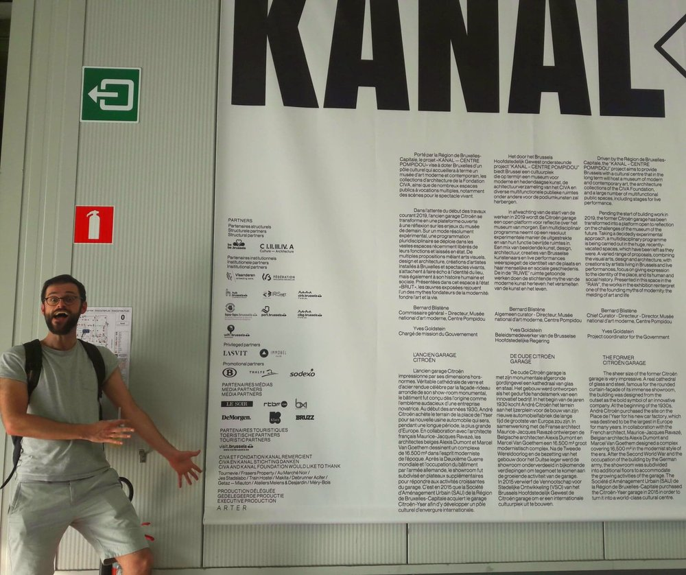 Opening of Kanal Museum