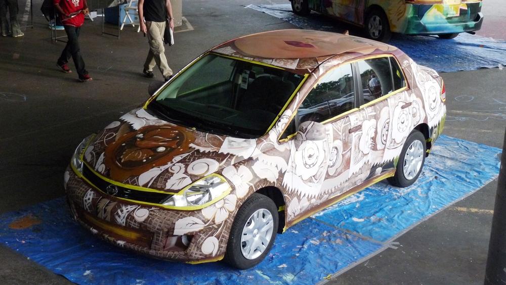 ArtWorks ArtCars, 2012
