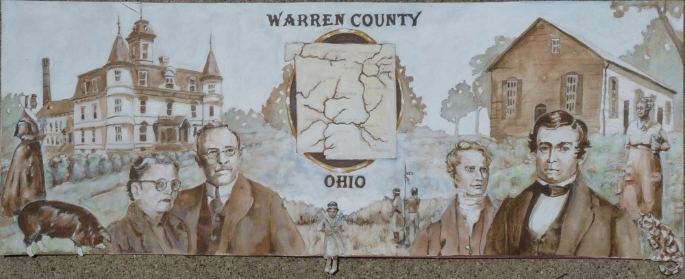 Proposed mural for Warren County Historical Society