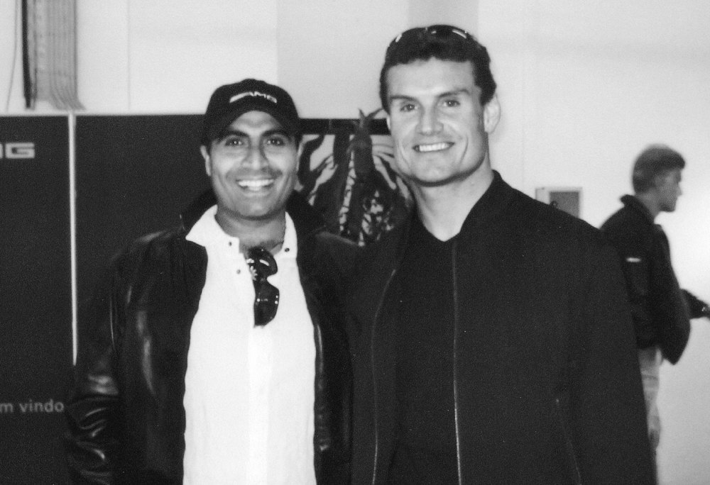 with David Coulthard