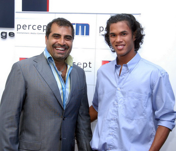 with Somdev Devvarman