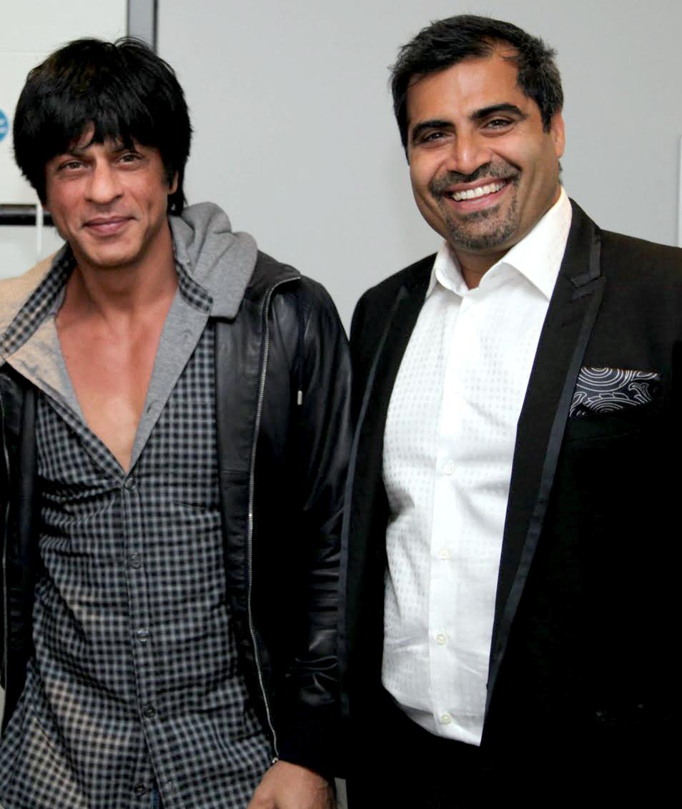 Shah Rukh Khan & Shailendra Singh