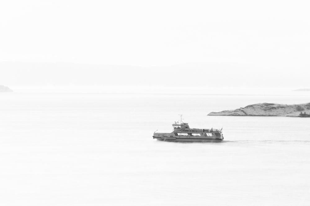 The island shuttle boat