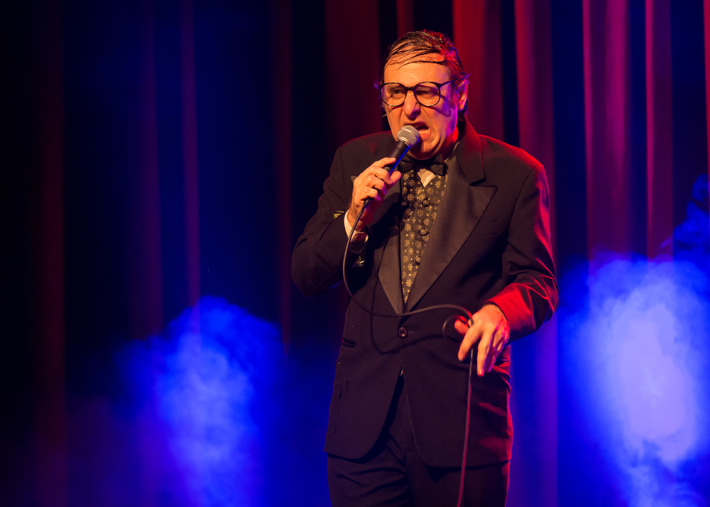 Self-proclaimed America's funny man, Neil Hamburger.
