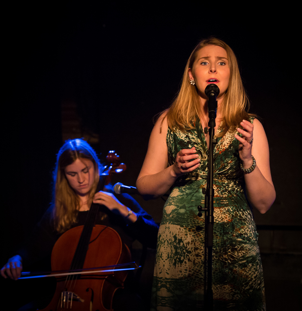 Katrine Schiøtt on cello