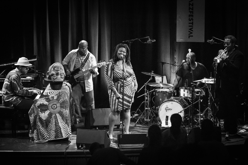 Jason Moran and The Bandwagon at Victoria Teater, with Lisa E. Harris on vocal