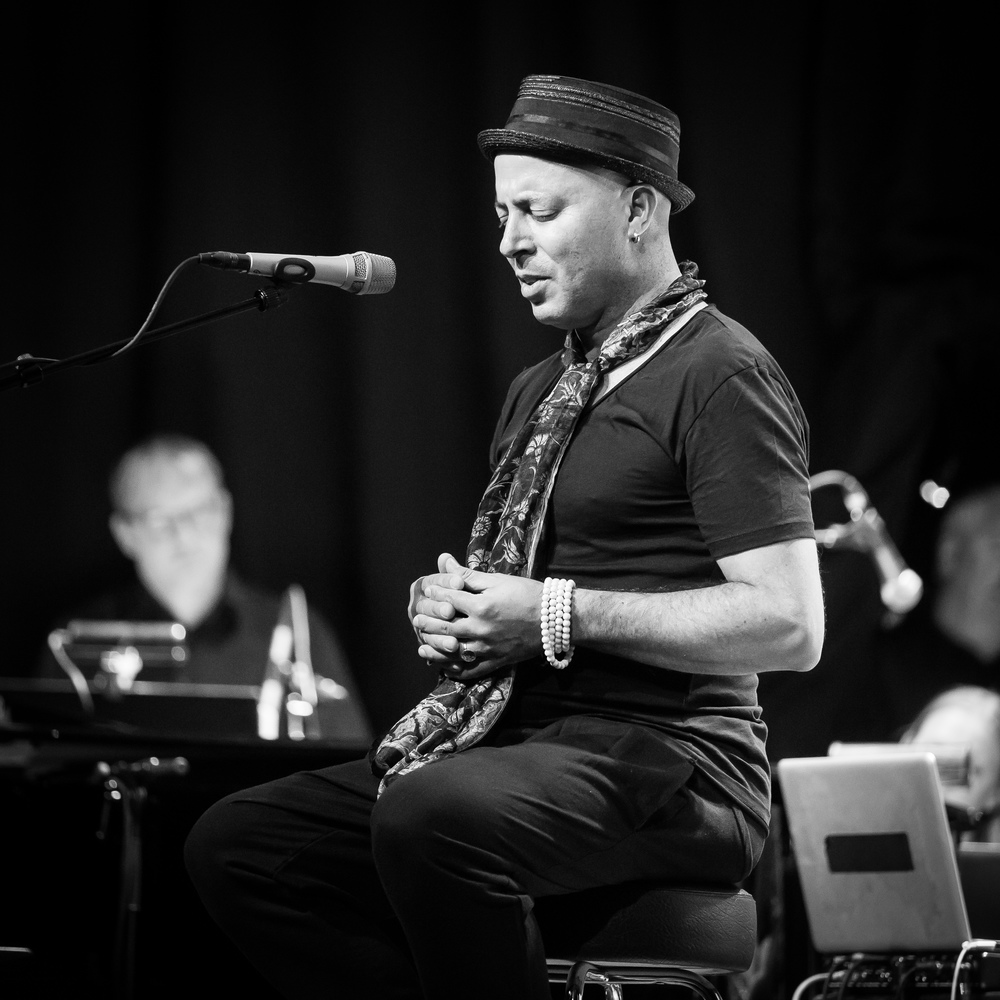 Dhafer Youssef at the last night of Oslo Jazzfestival 2015
