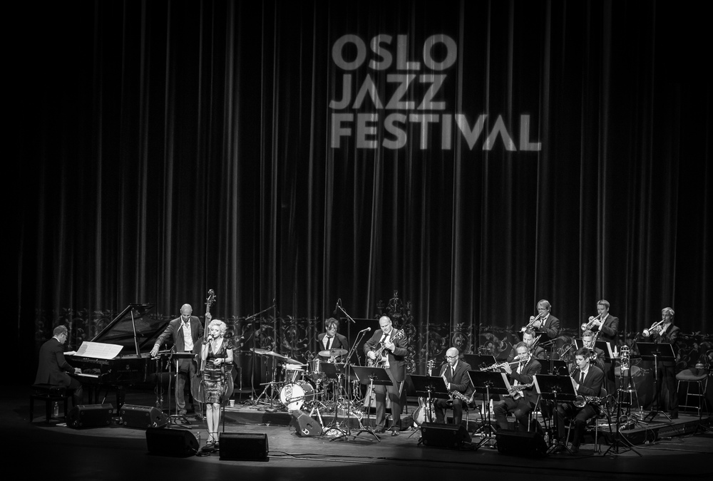 Asbjørnsen in Operaen, with an extended big band for the occation