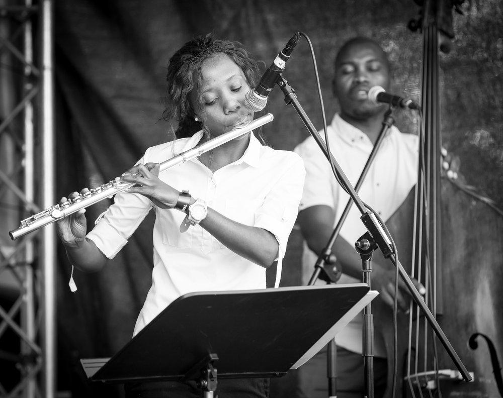 Tseleng Mokhatla on flute