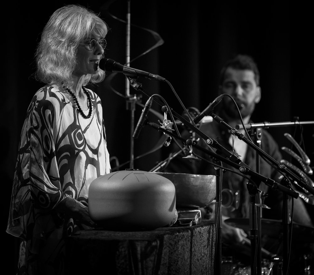 Anne-Marie Giørtz at the stage at Sentralen