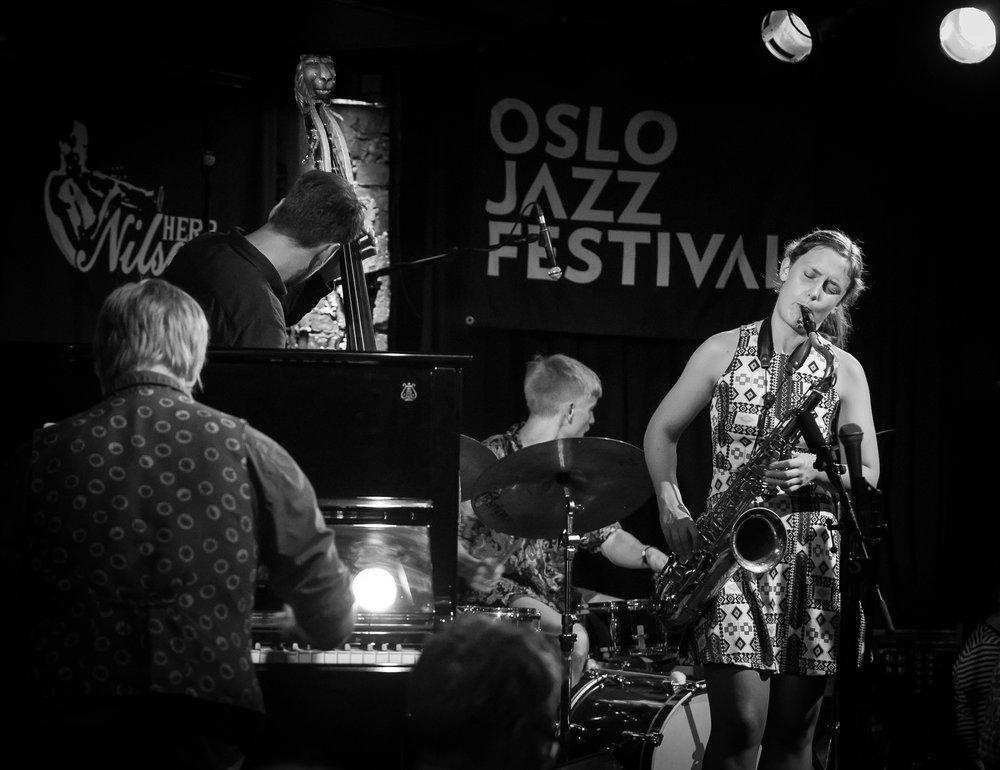The quartet led by Hanna Paulsberg