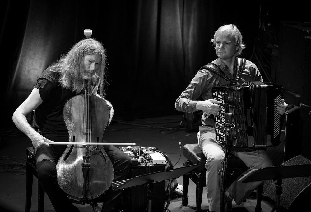 Svante Henryson and Frode Haltli