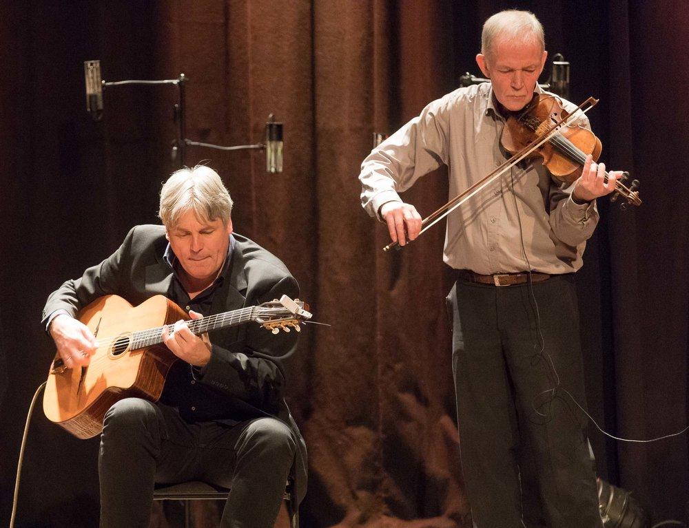 Jon Larsen and Finn Hauge