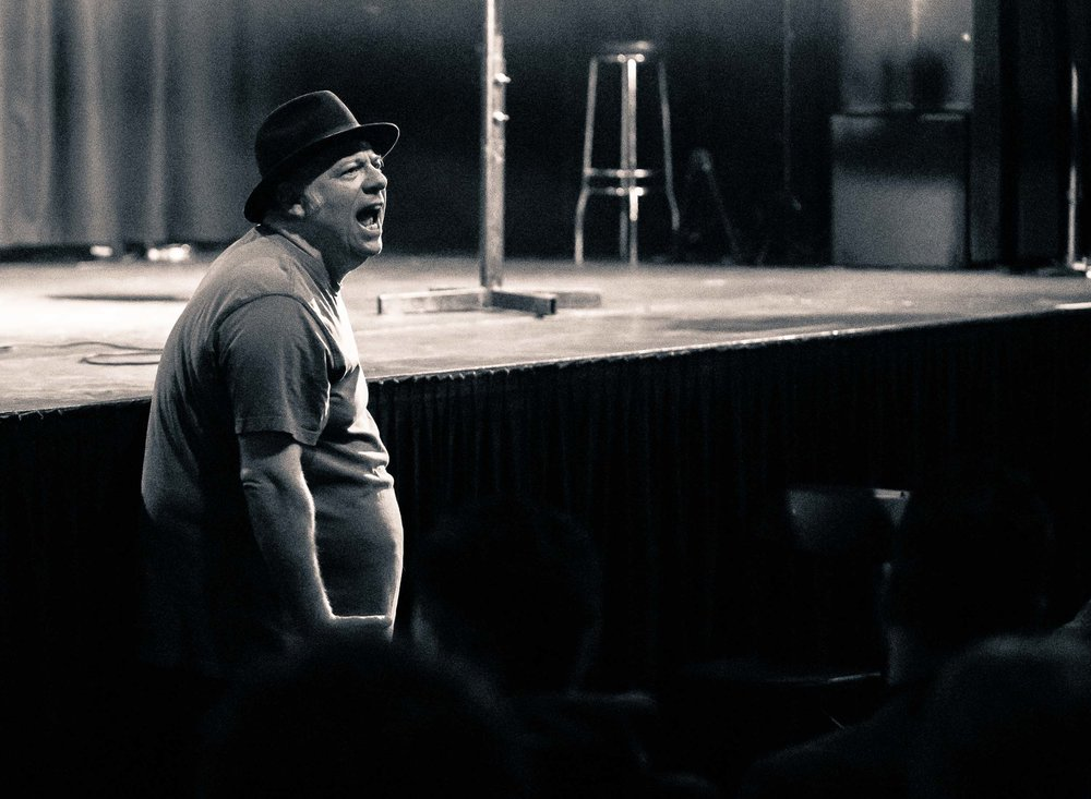 Eddie Pepitone heckling Eddie Pepitone with stuff only Eddie Pepitone would know about