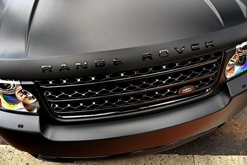 johnny-escobar :     Matte black Range Rover