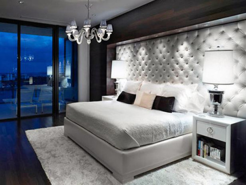 villlionaire :      Michael Habachy contemporary white bedroom