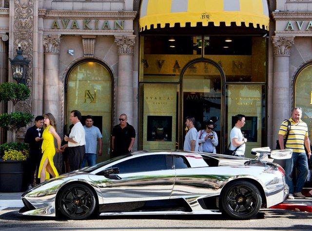 ju-julian :      Chrome Lamborghini Murcielago