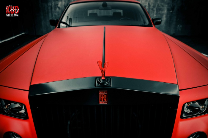Matte RED Phantom !