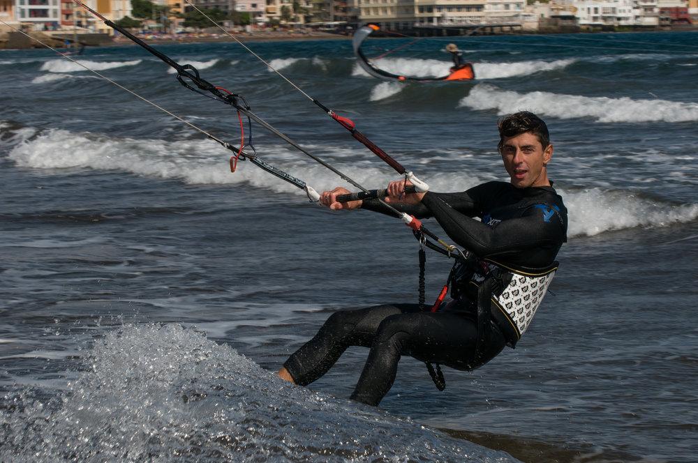 surfers from El Medano
