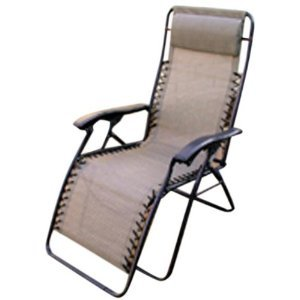 Merveilleux Zero Gravity Folding Lawn Chair