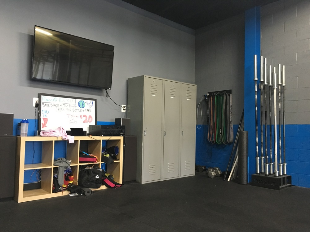 Over 1,500 sq. ft. Training Area