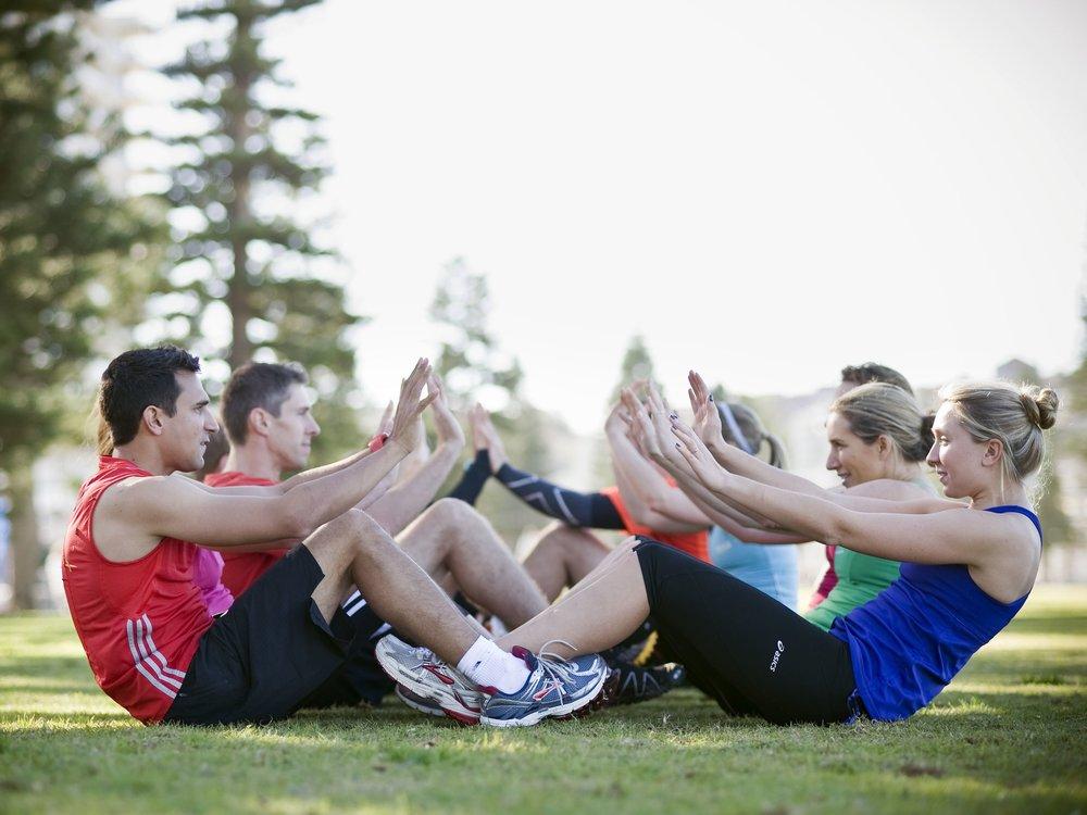 Partner/Team workouts