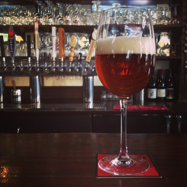 Tartare Rouge wild red ale, Monk's Kettle; The Mission. #flandersred @bearrepublic #tartarerouge (at The Monk's Kettle)