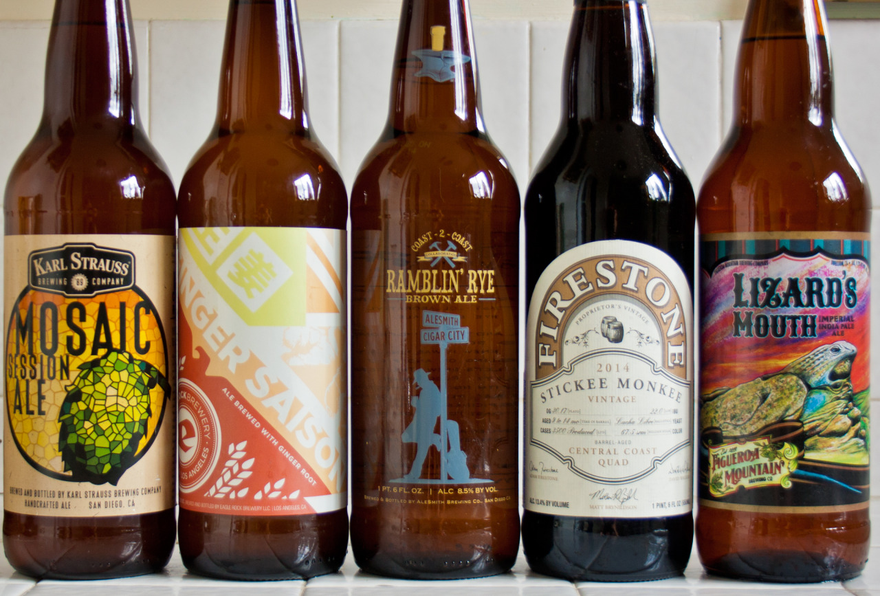 5 California Beers To Buy This Minute