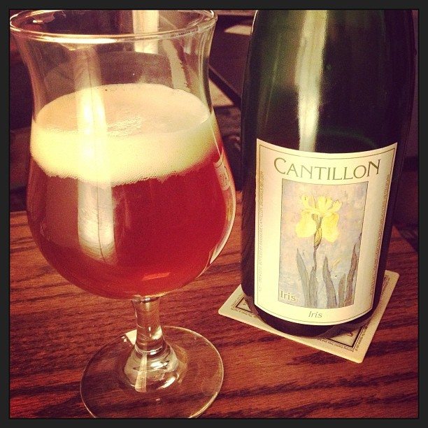 Last night ended with a bottle of #CantillonIris and snifters of #Utopias and it occurred to me I am actually dead and in #craftbeer heaven. #lambic #cantillon #samadams @samueladamsbeer