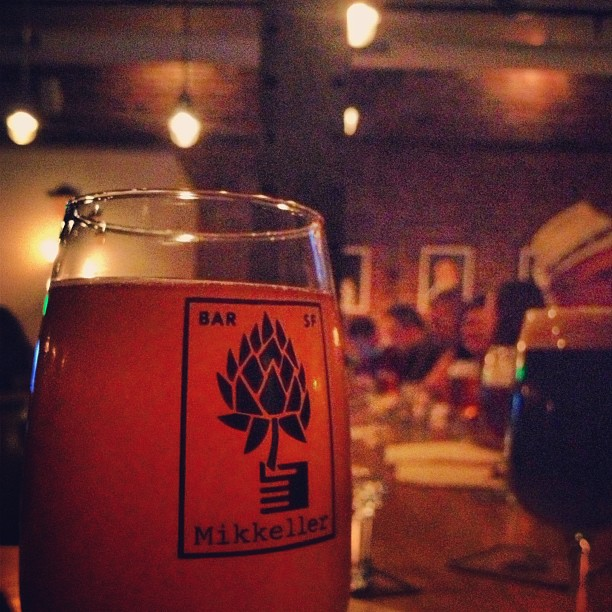 Well shit, girl's gotta end her day somewhere. #mikkellerbarsf #mikkeller #alvinnewildwest (at Mikkeller Bar)