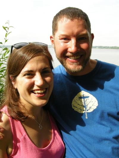 Marie-Pier Gagnon et Jeff Ballantyne, aventuriers du monde.