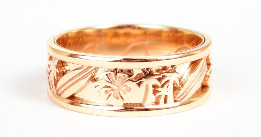 custom surf ring