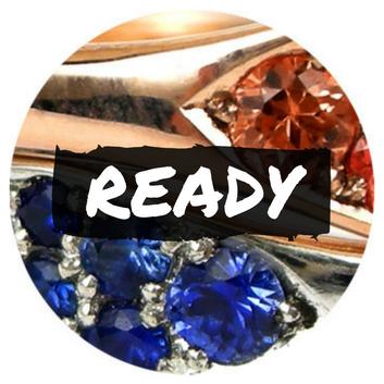 custom jewelry steps, ready