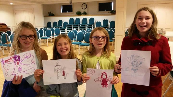EVERYONE draws fairies!