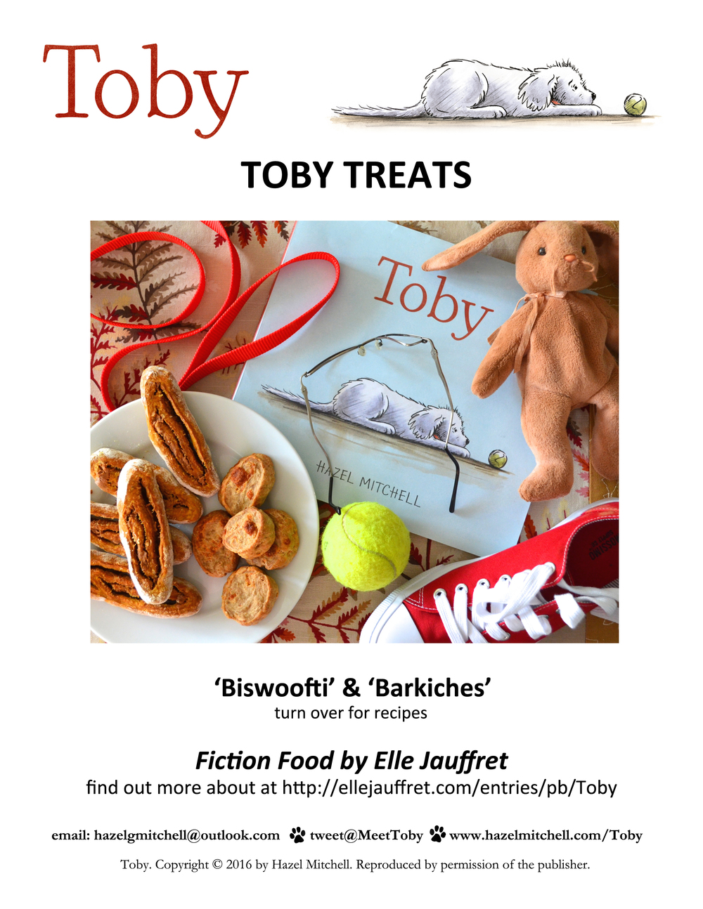 Toby Treat Recipes