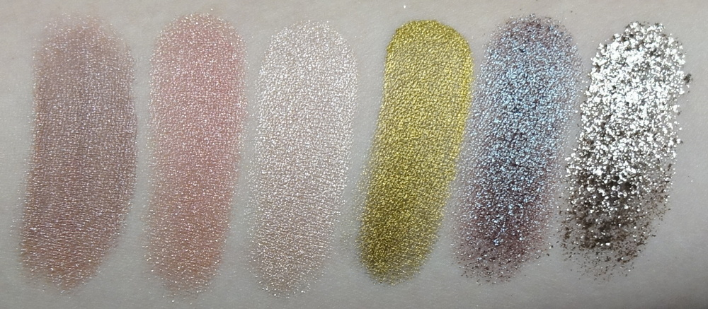 Makeup Geek Pigments (Nightlife, Birthday Wish, Afterglow, Liquid Gold, Insomnia, Utopia)