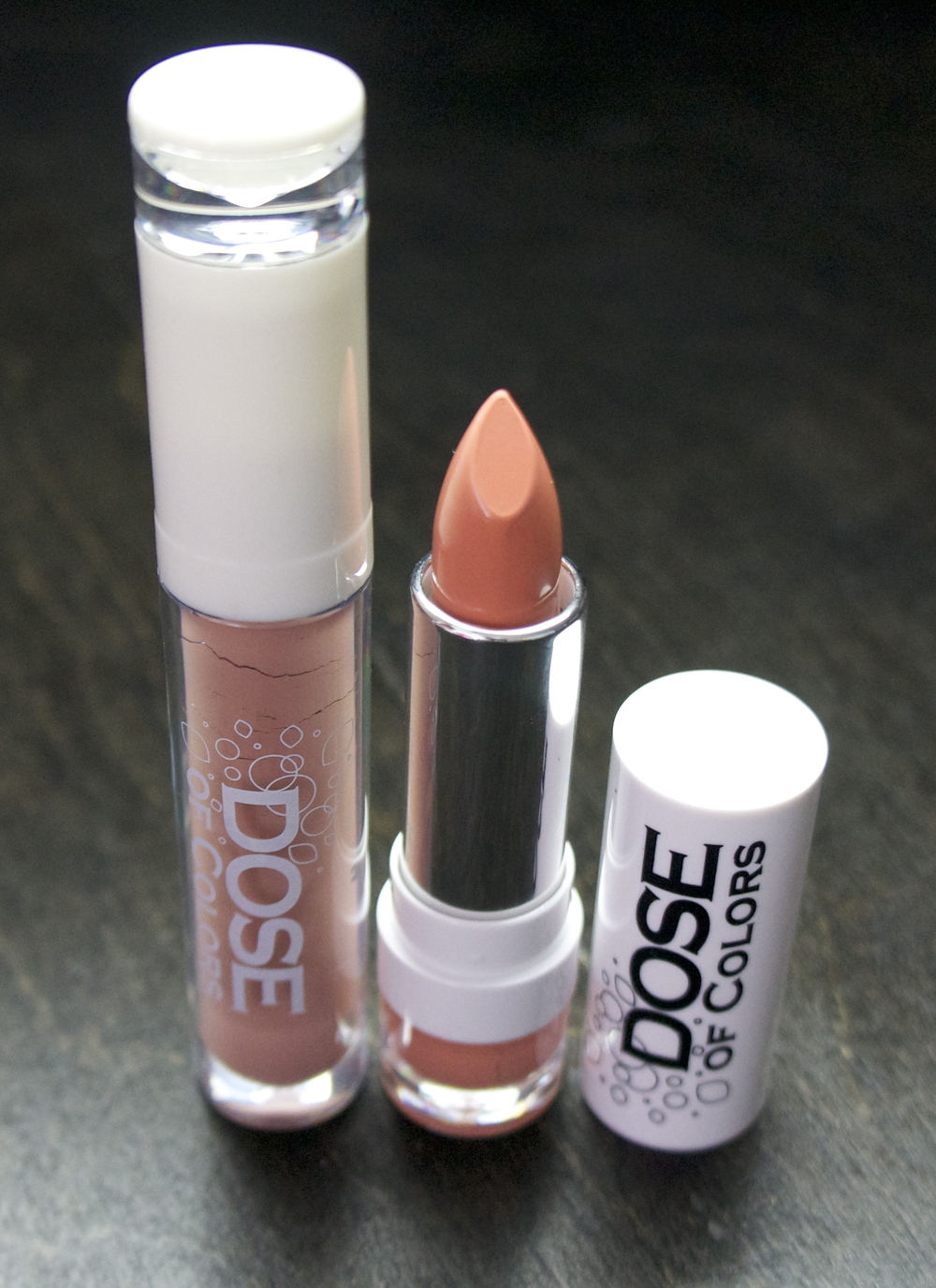 Dose of Colors - Lipgloss (Undressed), Lipstick (Angelic)